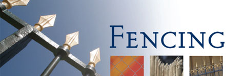 Fencing: Designing your landscape...